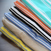 Yard dyed jersey fabric for ladies garment rayon spandex fabric for T-shirt stripe fabric