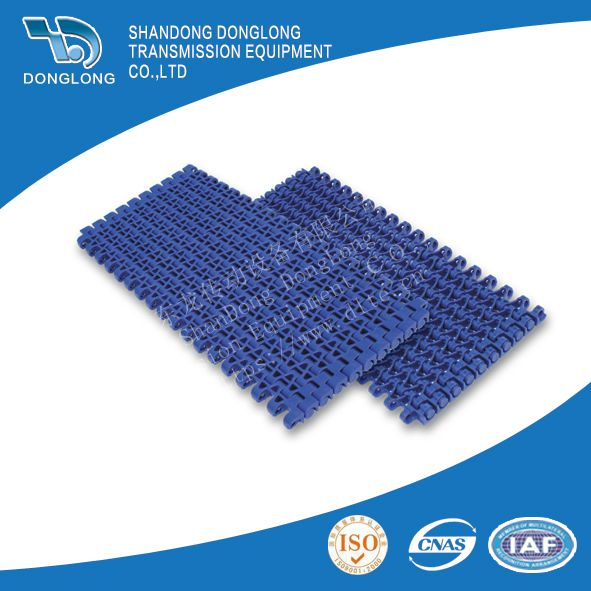 M1230 plastic Flush grid modular conveyor chains food transmission flat mesh belts