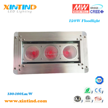 120W,Outdoor Installation 120W LED Module flood light retrofit replace 250W HPS light, Meanwell driver