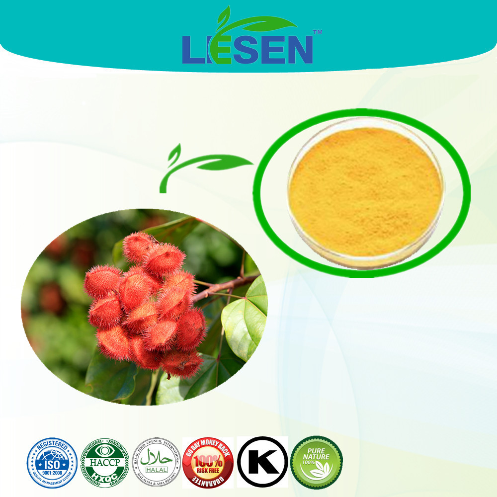 Annatto Seed Extract, Annatto Extract Powder, Bixin Powder