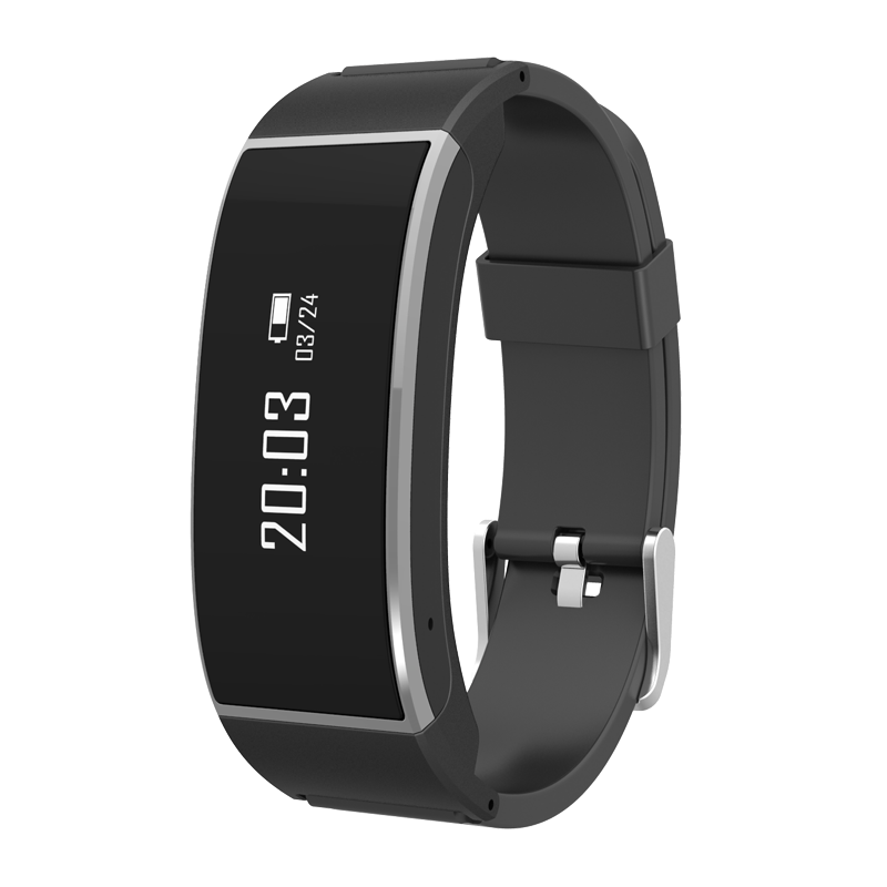 China manufacturer intelligent product smart bracelet watch bluetooth earphone headset support answer the call for android ios