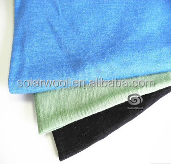 New Design With High Quality Baby alpaca & Merino Wool Blended Fabric 160gsm Jersey