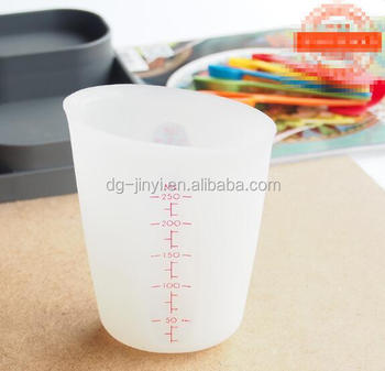 silicone measuring cups kitchen measuring cup 250ml