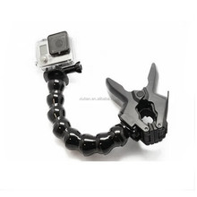 Camera Accessories Jaws Flex Clamp Mount & Adjustable Neck for gopro Hero3+ /3/2