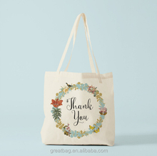 cheap grocery tote cotton canvas gift bag