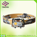 High Power 5W cob led rechargeable headlamp,Most Powerful Rechargeable led Headlamp flashlight,headlamp led for camping