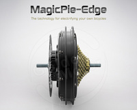 MagicPie Edge 250W-500W e bike hub motor with bluetooth connection