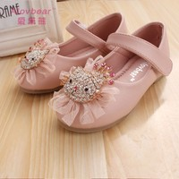 2015 Alovbear new style cheep dance shoes for girls leather shoes D03-37