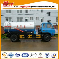 4x2 10m3 Dongfeng sewer suction truck