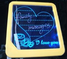 20*22*2cm Luminous message board with patent, LED display