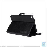 Real leather case cover for Apple iPad Mini 4 with flip buckle