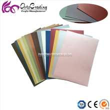 professional specialty paper, colorful art pearl paper for greeting card,decorative , packing, handwork
