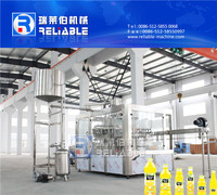 PET Bottle Juice Filling Machine / Juice Prodcution Line Machine