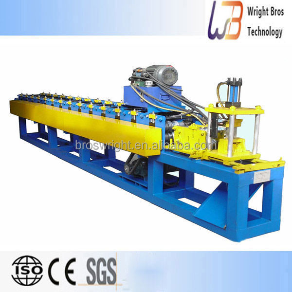 PLC control roller shutter roll forming machine