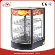 Chuangyu Contemporary Designed Electric Counter Top Food Warmer Display Showcase
