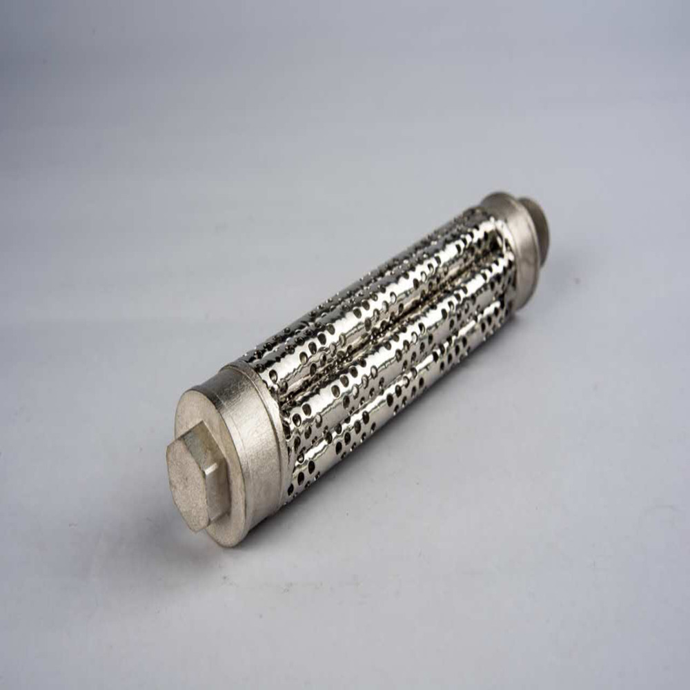 304/316 Factory filter pipe spiral stainless steel perforated metal tube carbon steel