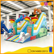 AOQI excellent quality giant inflatable water slide elephant outdoor for business