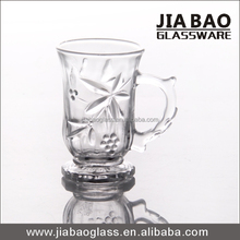 Pasabahce glass, turkish styly coffee mug, carved coffee glass