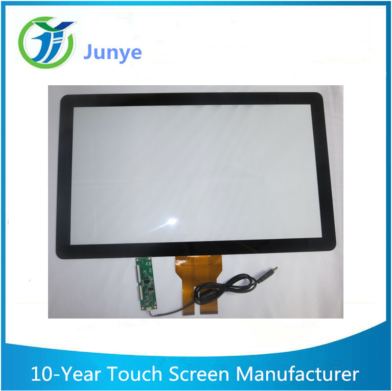 Factory straight pin 21.5 inch industrial capacitor touch screen, industrial control touch screen, large size touch screen
