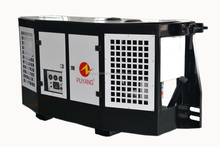 Clip on diesel generator for reefer containers carrier style