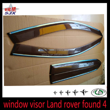 High Quality ABS Black Sun Visor Window Visor Rain Shield for Toyota Hilux Vigo 2012