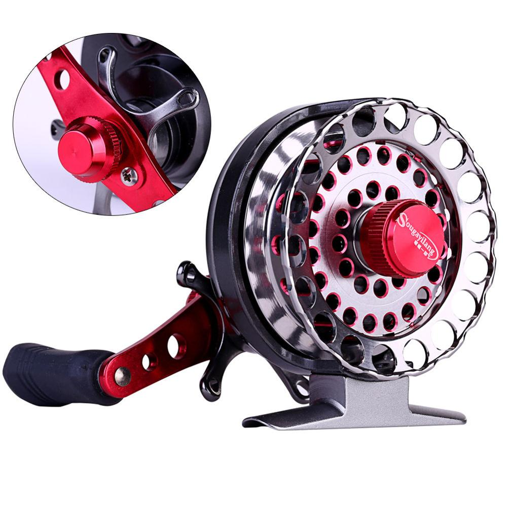 6+1BB Aluminum Spool Sea Bait Casting Tackle Ice Fishing Reel Raft Fishing Gear