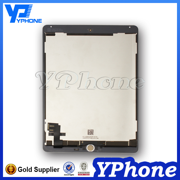New Arrival original for ipad 6 lcd, for ipad 6 screen, for ipad 6 air 2 lcd screen replacement