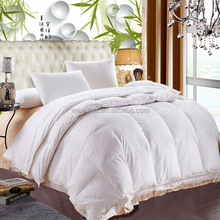 Top Selling Pure Color Polyester White Hotel Comforter