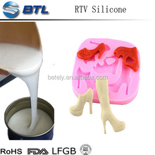 Liquid silicone rubber for art craft molding