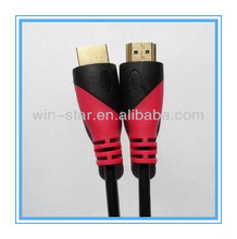 19pin 1080p hdmi cable paypal with optional double mould color For HDTV,PS3,Projector,PSP,XBOX,DVD player