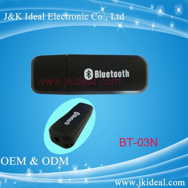 BT-03 3.5mm Jack output usb input Bluetooth micro usb dongle 3g
