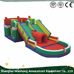 Popular palm theme bouncer , durable inflatable slide for sale