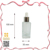 New product Taiwan hot frosted glass essence oil silver screw dropper
