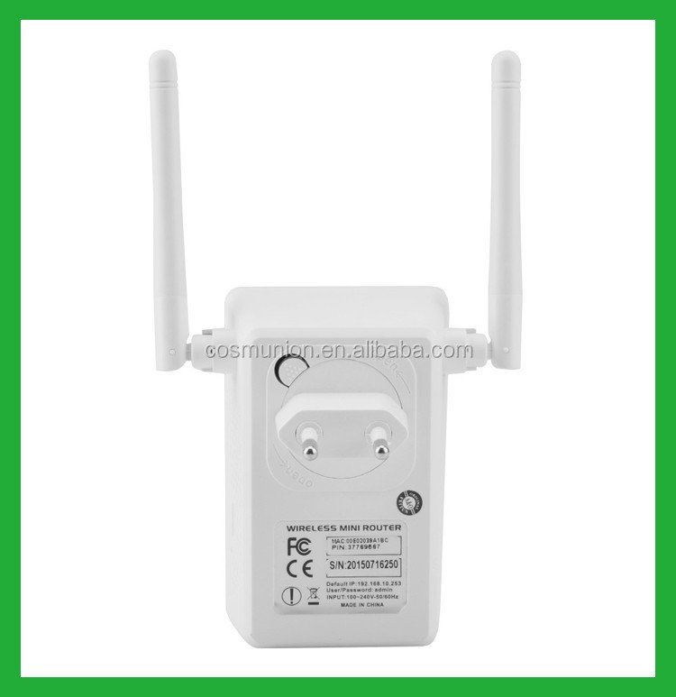 EU Europe Dual bands RJ45 wifi adapter with power through function