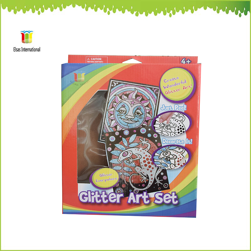 Art and craft wholesale glitter sets kits paint gift for Arts and crafts supplies wholesale