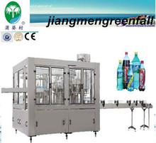 automatic carbonated drinking filling machine cost /mineral water plant cost /drinks making machine price