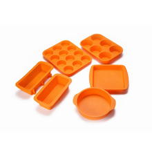 Hot Selling Silicone Muffin Cupcake Baking Molds