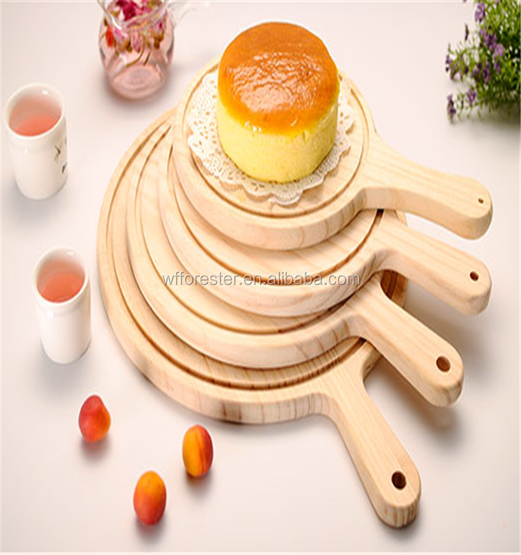 Hot sale creative design promotional wooden pizza tray