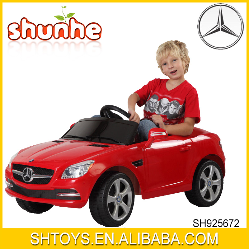Keyless Strart Mercedes Benz SLK CLASS 2010 Authorized Licenced Radio Control One Seat Baby Ride On Car