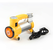 New product 12V LED light car tyre air pump portable air compressor BS-8023