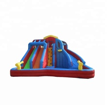 Amusement park Attractive commercial inflatable water slides