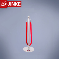 Subway Equipment Stainless Steel Rope Bollard Stand Prices