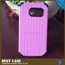 Mobile Phone Accesories Suitcase Pattern Combo Armor Case For Iphone 4G Back Cover