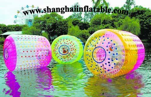 Customized inflatable water roller ball sport inflatable water game inflatable water toys park free shipping by sea