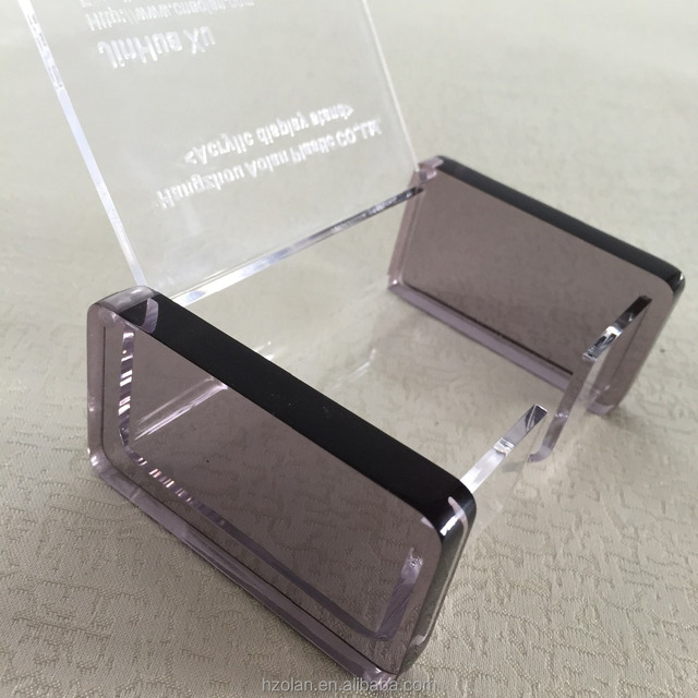 Acrylic laser cut card holderyuanwenjun new design acrylic business name card holder boxpost card clear display box colourmoves