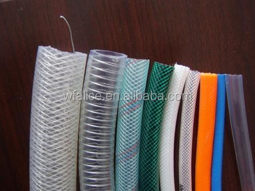 Weifang Customized 1/2Inch To 2Inch Clear PVC Steel Wire Reinforced/Strengthed Spring Hose