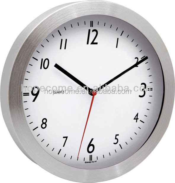 (M2907)Round 7 inch promotion silent sweep wall clock for bedroom