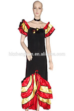 Flamenco Latin Dancer Costume Can Can Saloon Dancing Fancy Dress