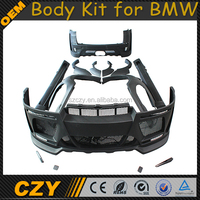 H Design FRP Material E70 Body Kit for BMW x5 07-13