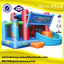 commerial used inflatable bouncies, party jumpers with rain/sun roof cover, inflatable bouncers